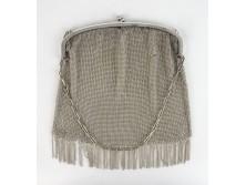 Antik ezüstözött alpakka színházi táska 1cec82a75d